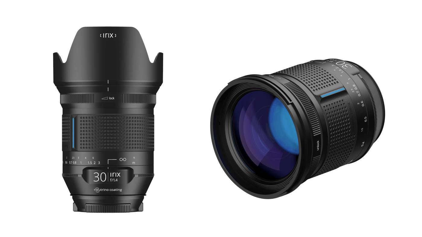 Irix 30mm f/1.4 Dragonfly lens
